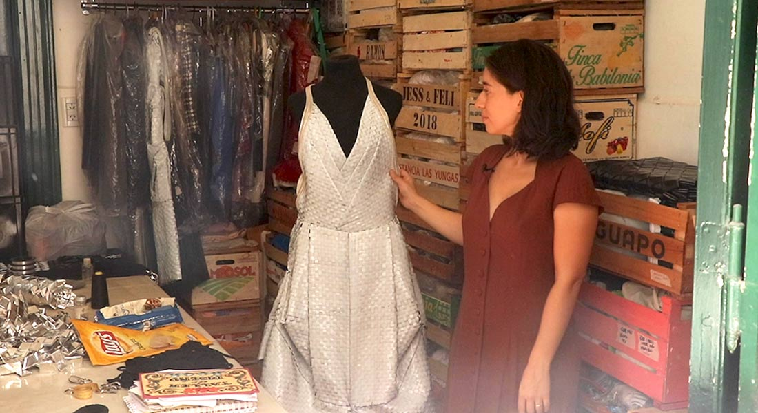Argentinian Designer Turns Fashion Into Environmental Activism Medill Reports Chicago