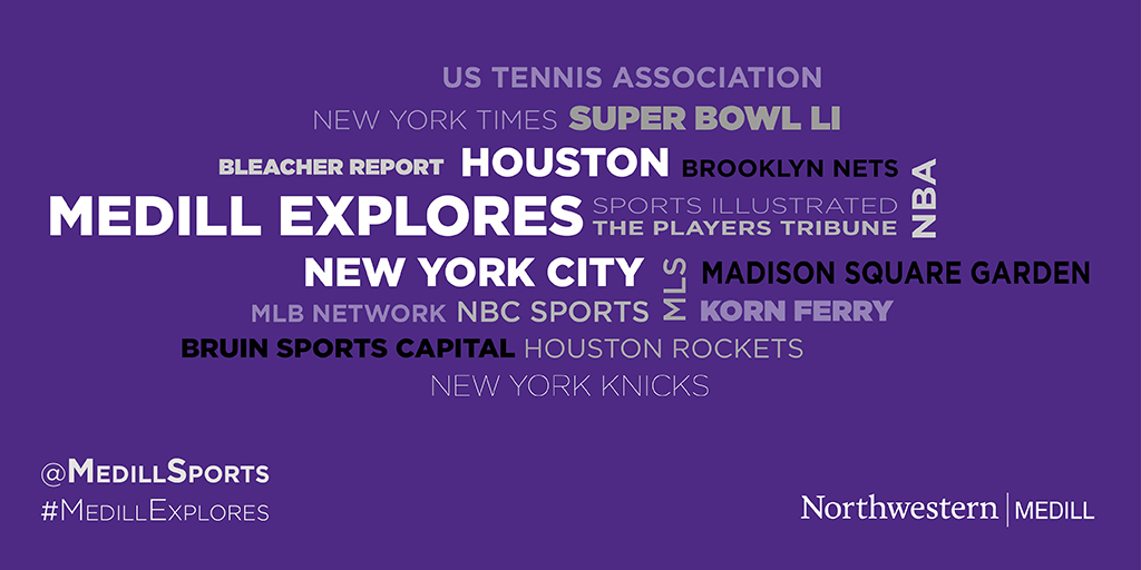 Students to experience Houston, NYC sports scenes