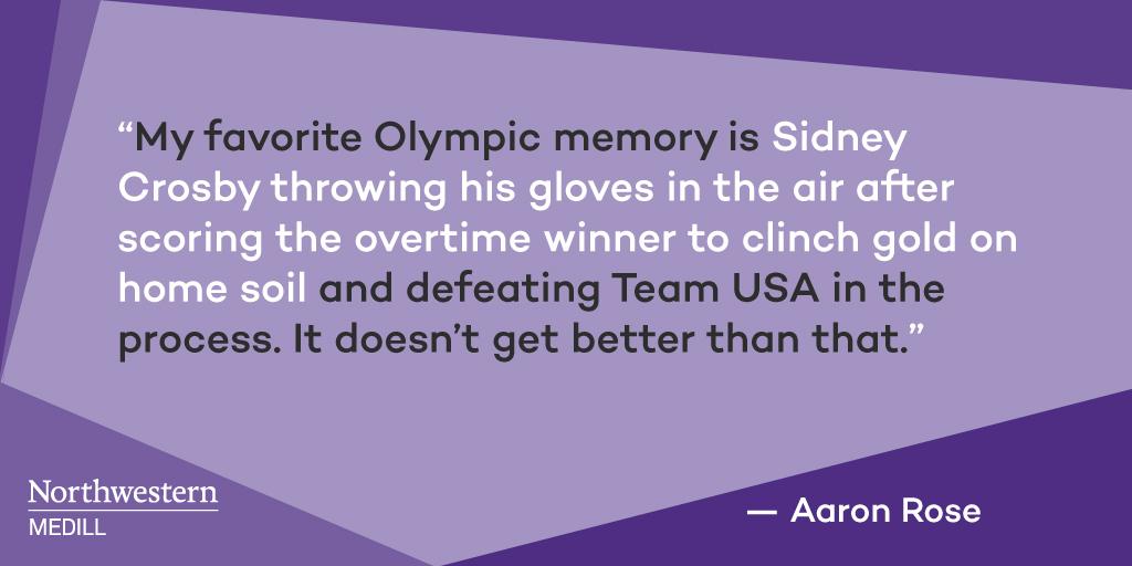 Rose: Olympic memories