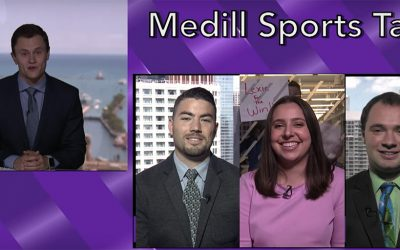 The making of Medill Sports Talk