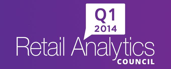 Q1 2014 Journal of Retail Analytics