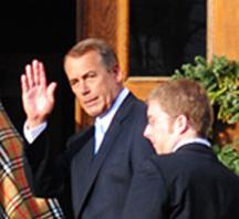 Boehner's big moment