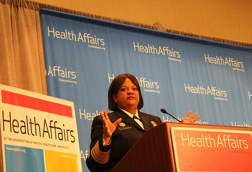 Surgeon general speaks at diabetes briefing