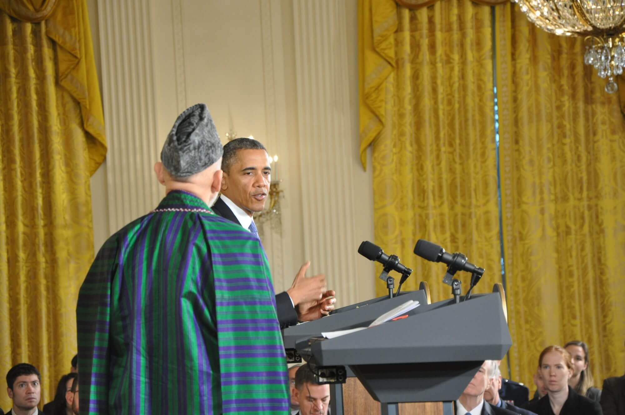 Joint Press Conference with Presidents Obama and Karzai