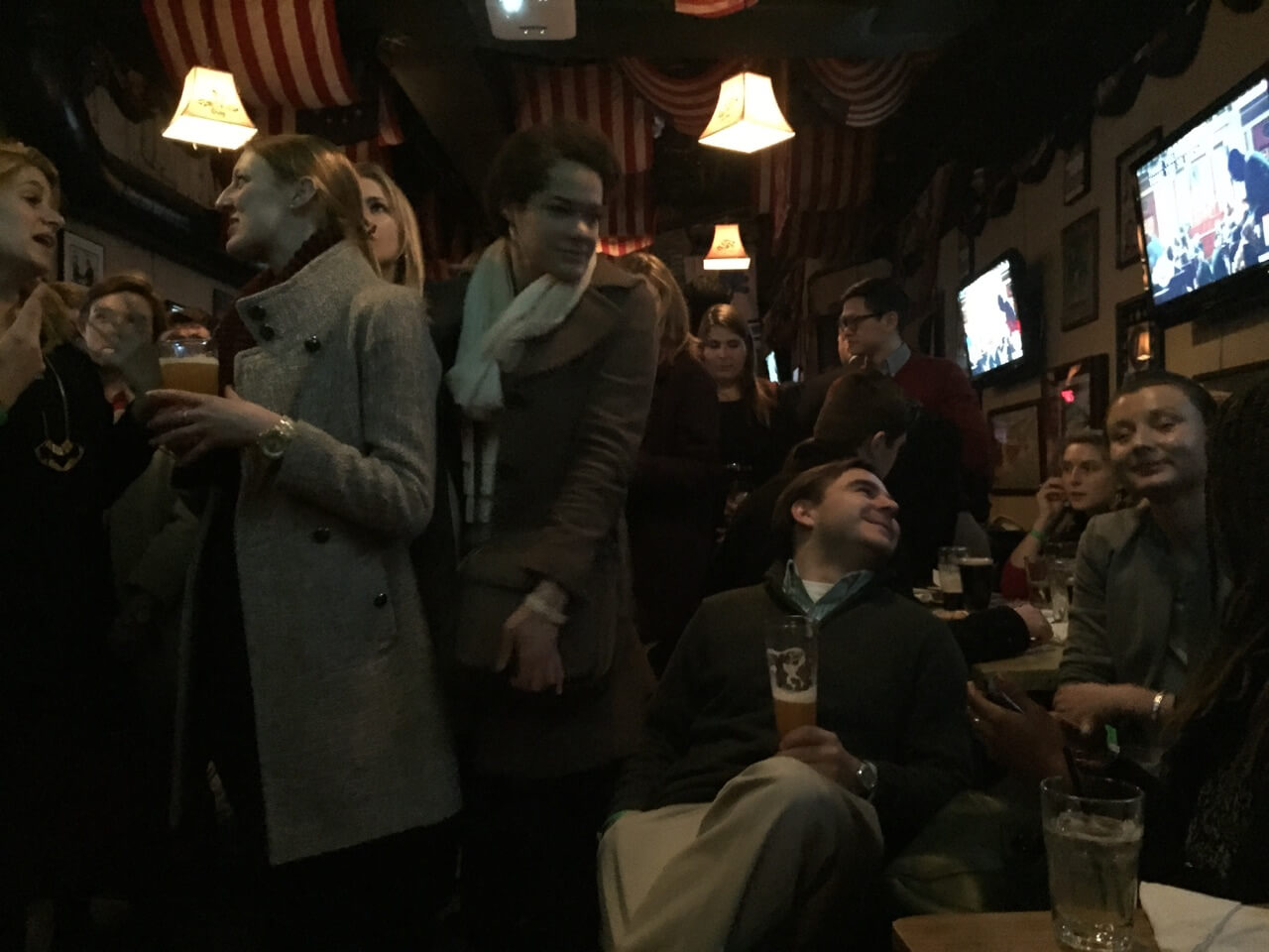 Conservative youths unimpressed by SOTU at Capitol Lounge