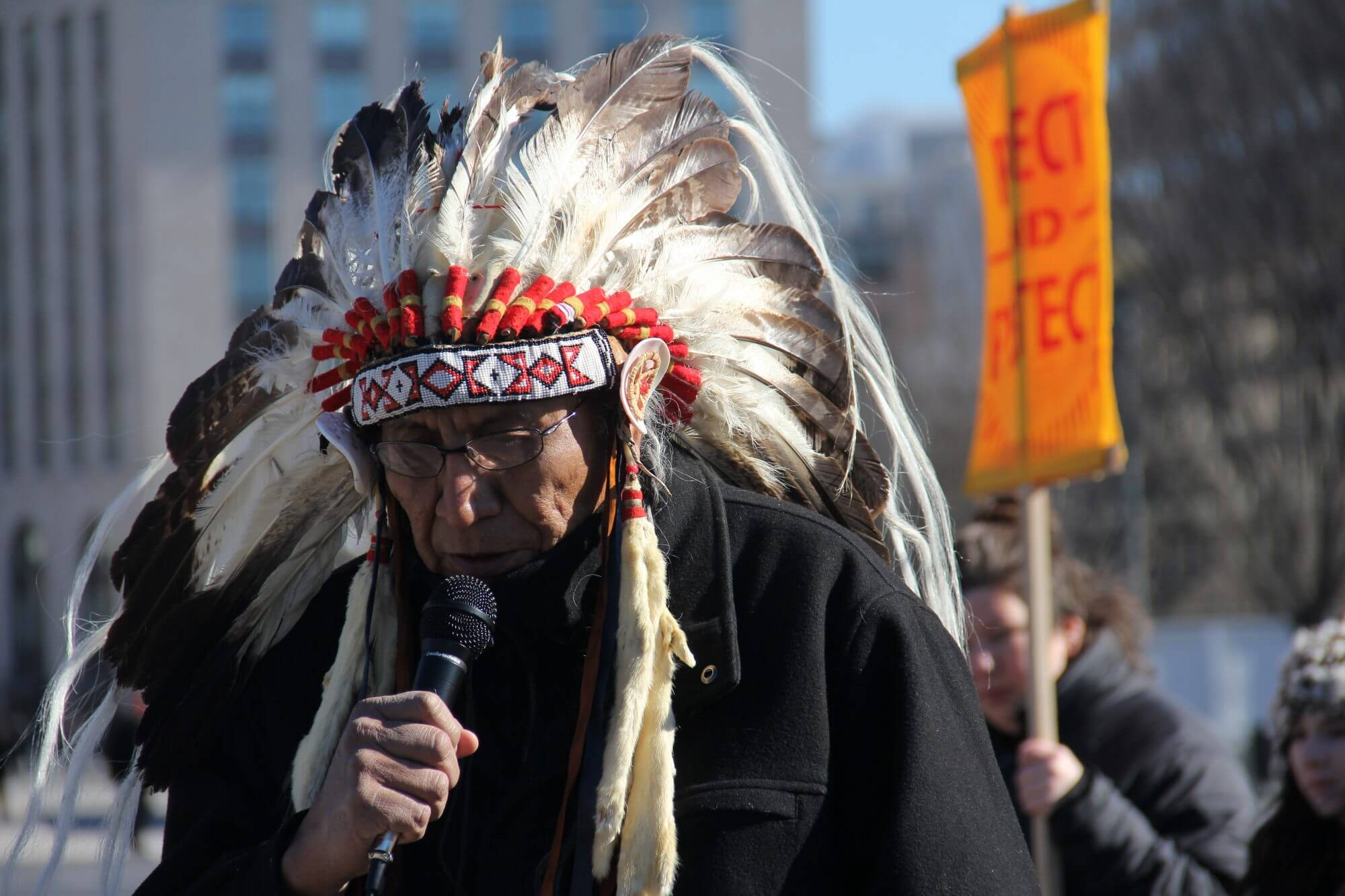 Faith leaders, activists protest Keystone pipeline outside White House