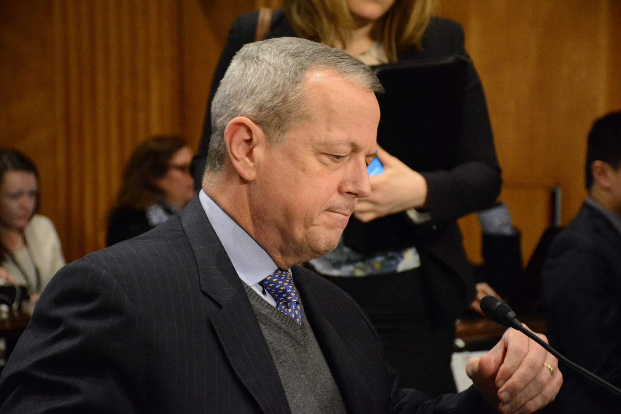 Senators press for answers on the use of military force in fight against ISIS