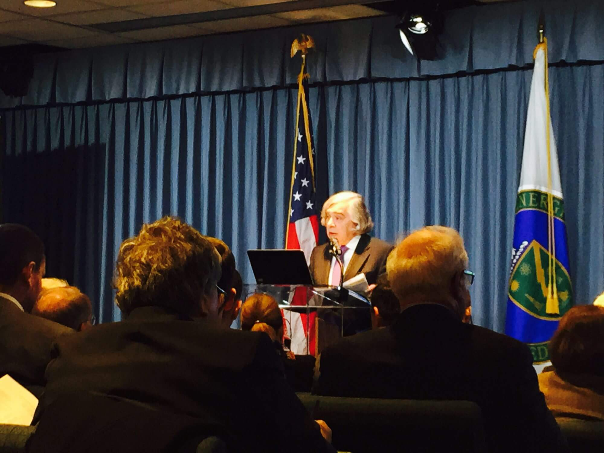 Energy Department requests $29.9  billion to focus on clean energy, new tech in FY 2016