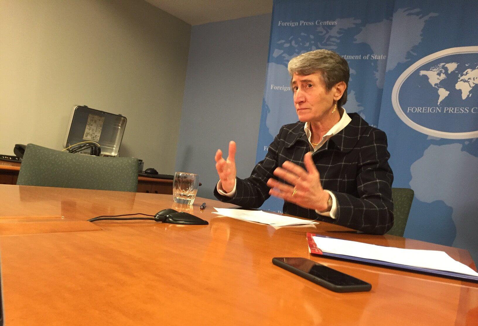 Interior Secretary Sally Jewell addresses wildlife trafficking, calls U.S. part of the problem