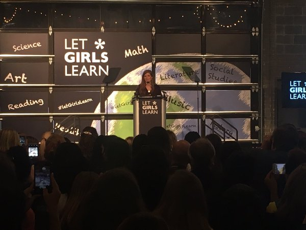 "On International Women's Day, Michelle Obama Wants More Money to ""Let Girls Learn"""