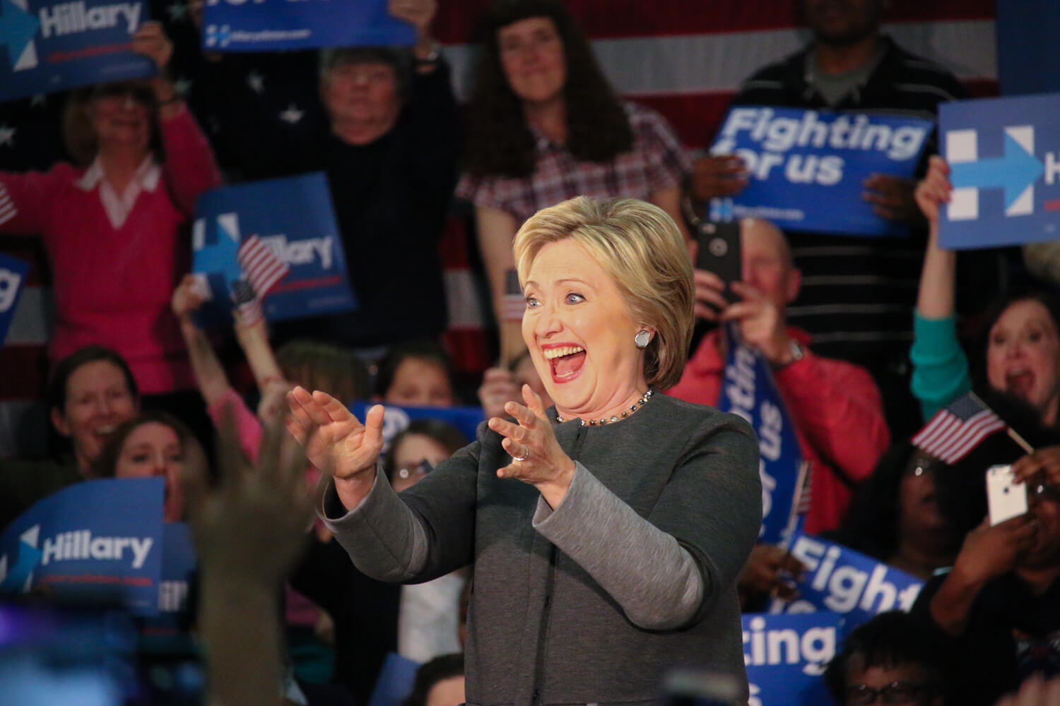 Virginia Democrats celebrate end of Super Tuesday with Clinton win