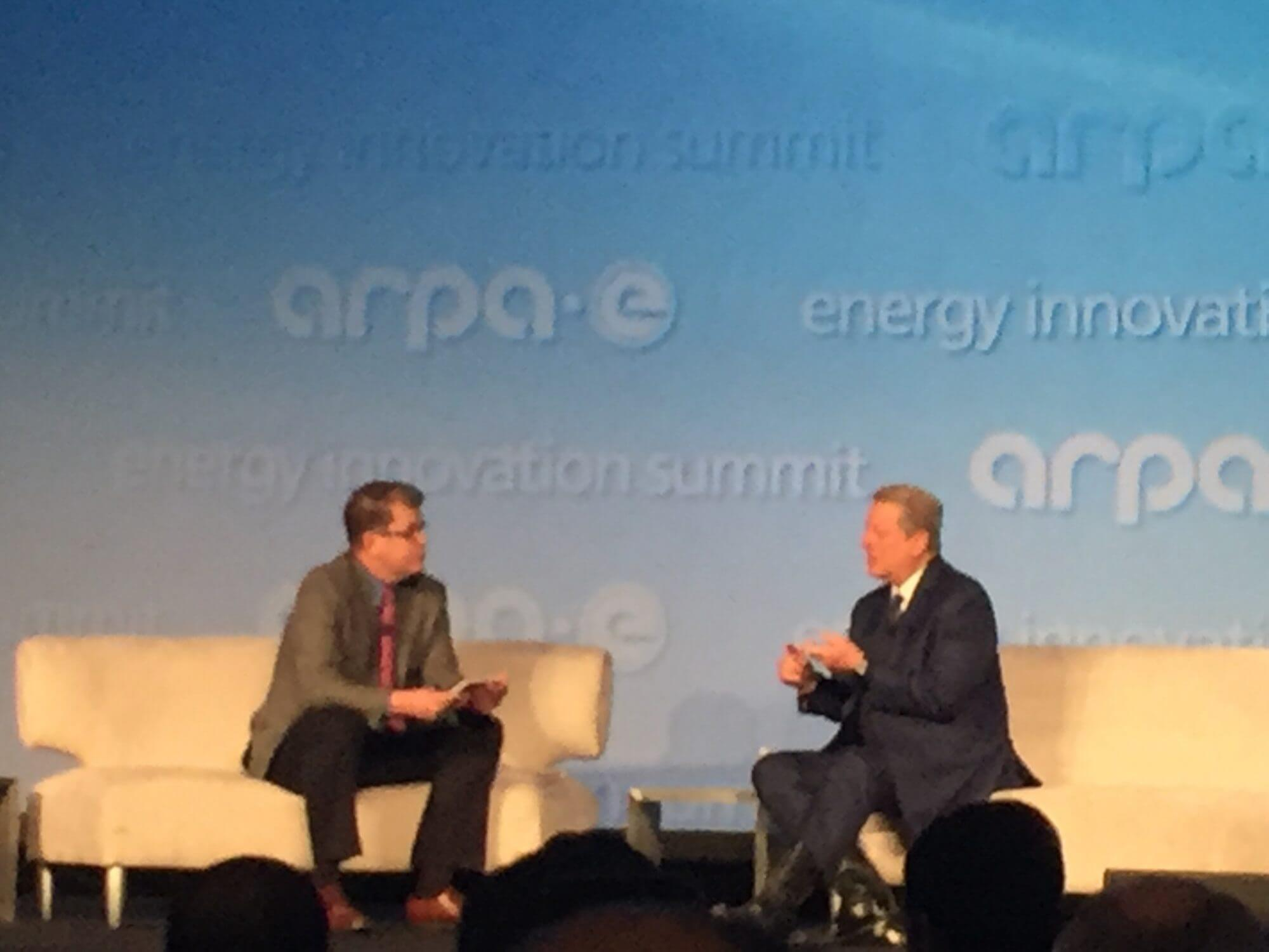 Former Vice President Al Gore says companies need to be greener