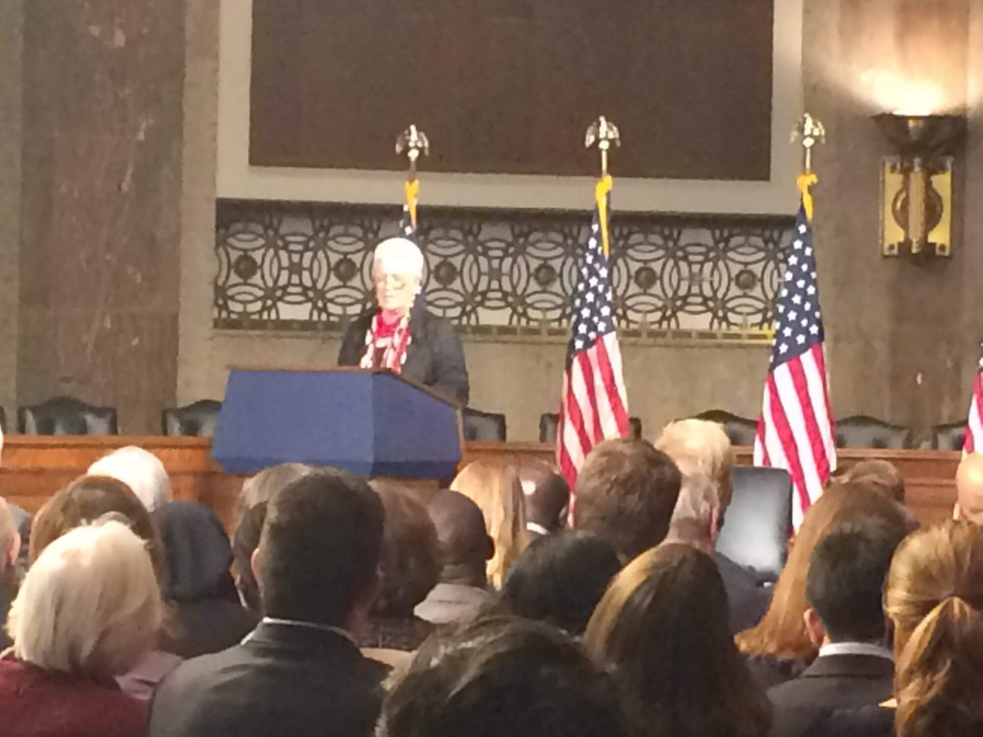 USAID head Gayle Smith urges patience in global crises