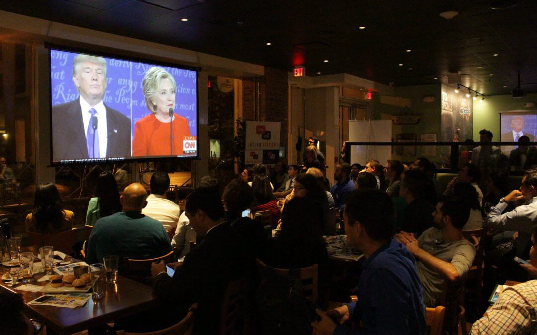 How millennials in DC watched — and responded to — the first debate
