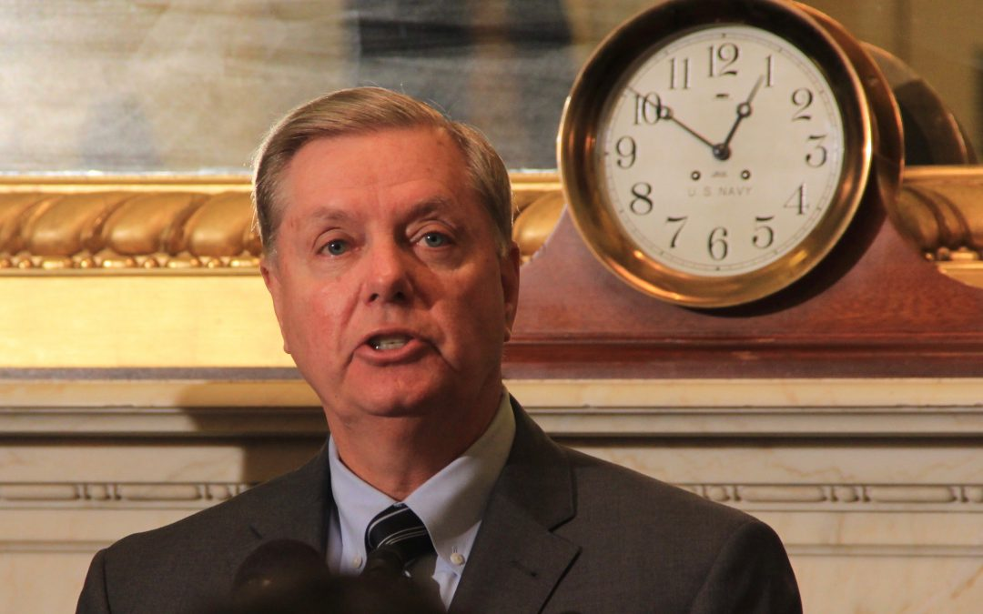 Sen. Lindsey Graham seeks to stop U.S. economic aid for the Palestinian Authority