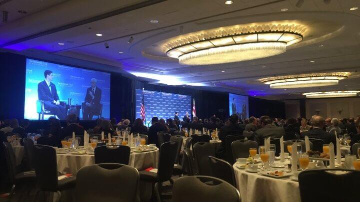 Speaker Ryan gives observations on presidential election, partisan divide