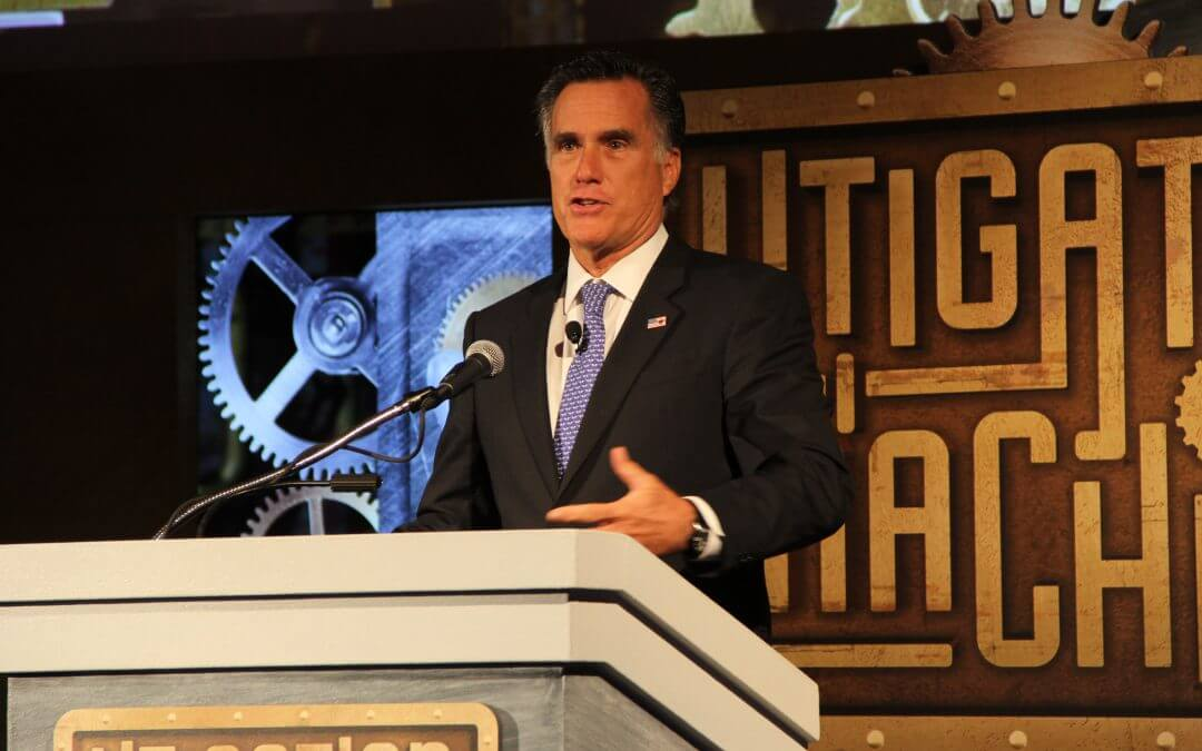 Mitt Romney: Washington, federal government are letting America down