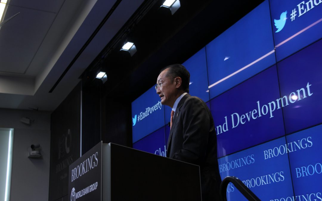 World Bank president urges creativity, innovation in fight to end extreme global poverty