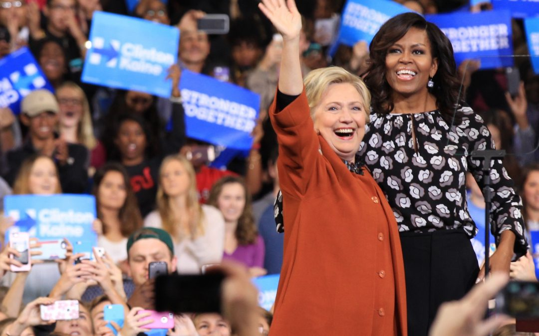 Gallery: Michelle Obama campaigns with Hillary Clinton for the first time
