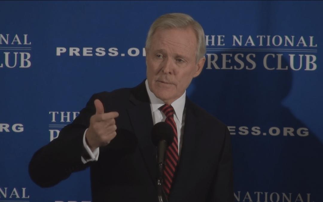 Navy Secretary Ray Mabus addresses ratings change, gender diversity