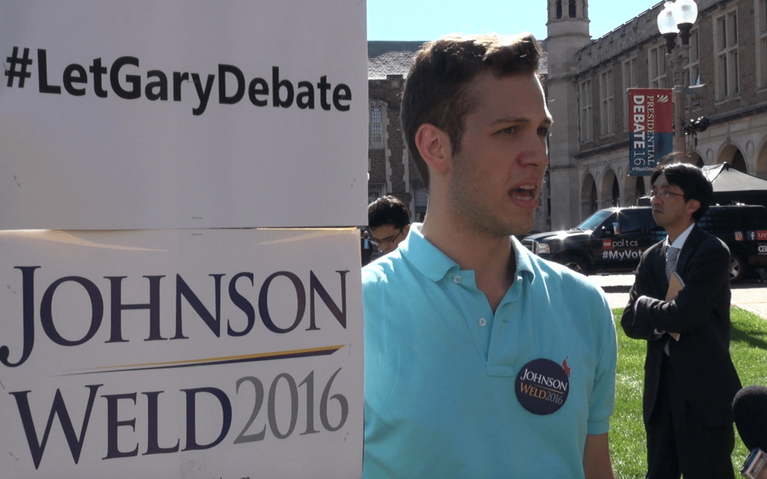 Students pledge long-term support for third parties even as their candidates fall in the polls