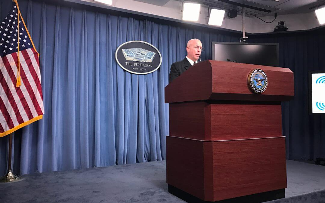 U.S. will play an indirect supportive effort in battle of Mosul, Pentagon press says