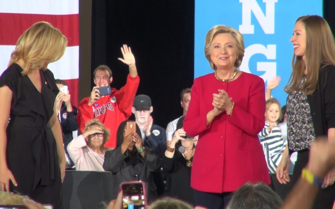 Clinton campaigns on family issues in Pennsylvania