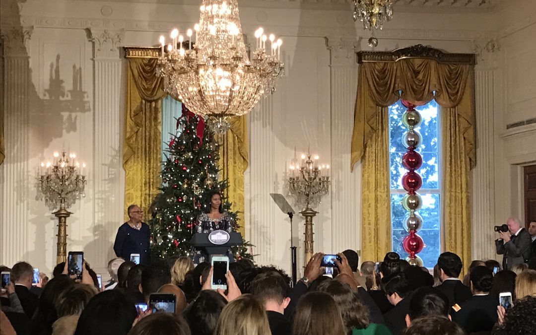 Obama White House ushers in final holiday season with military families