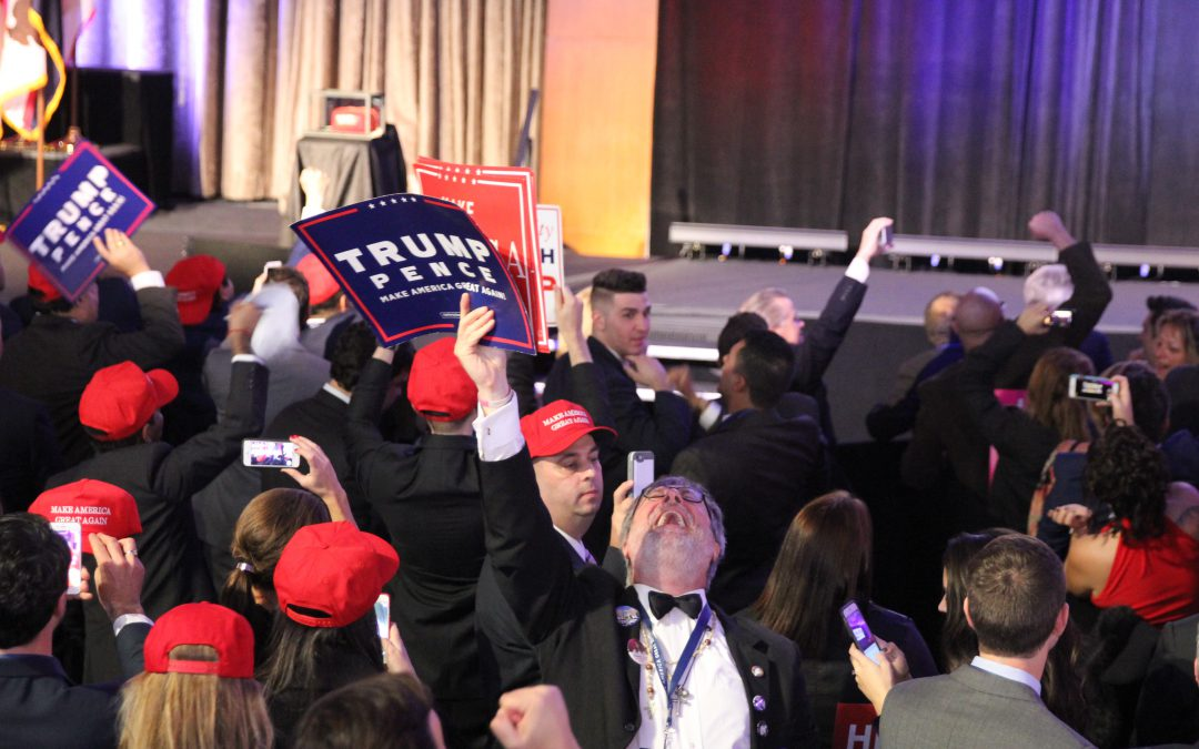 Trump Supporters Celebrate in New York