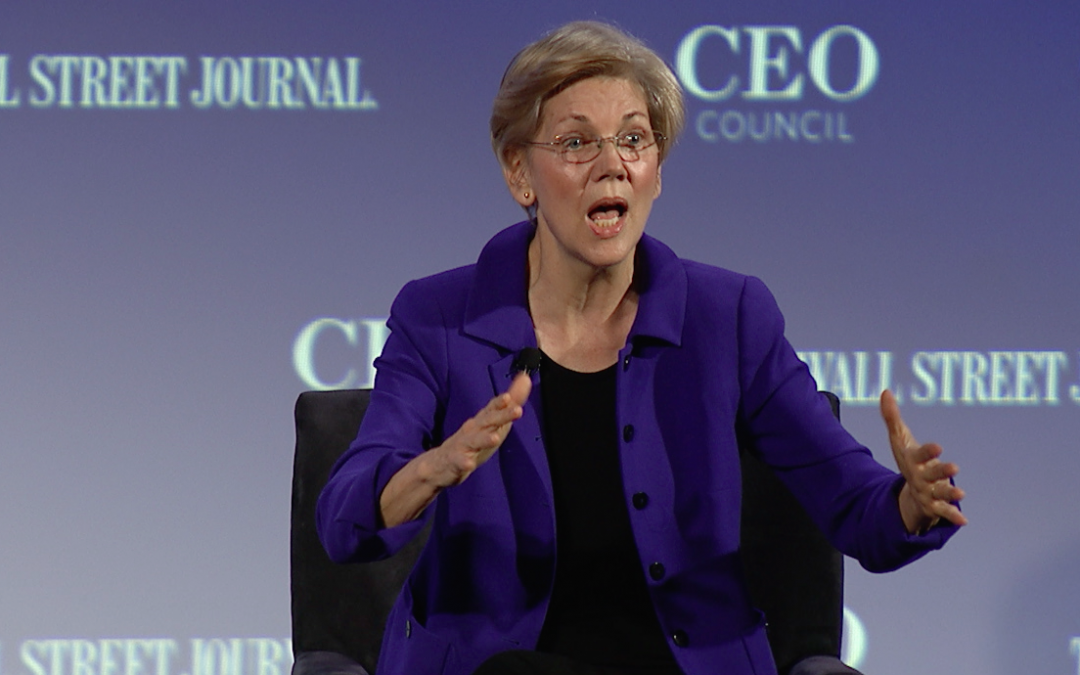 Warren pushed Democrats to turn away from corporations and embrace forgotten Americans