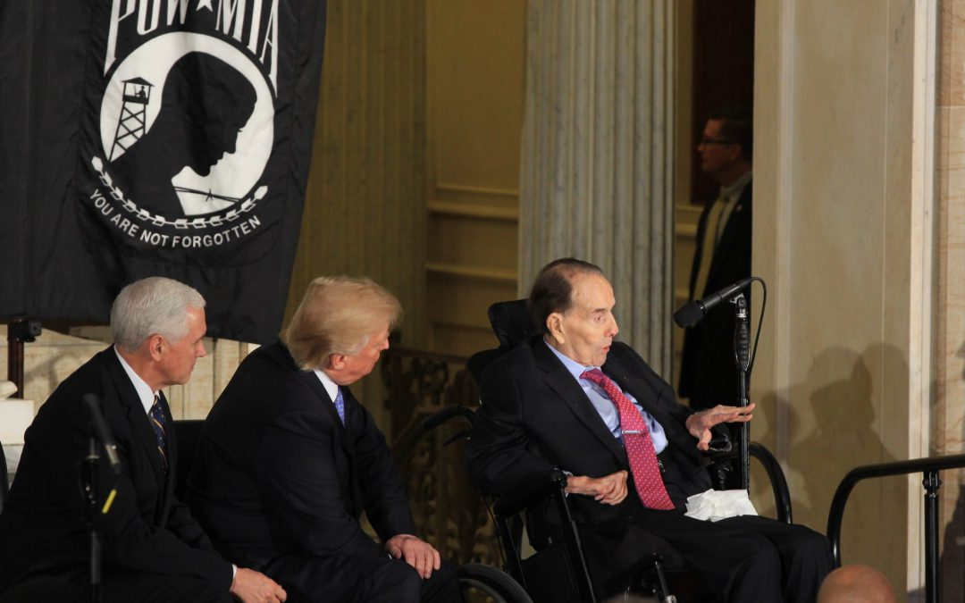 Bob Dole Receives Congressional Gold Medal (Slideshow)