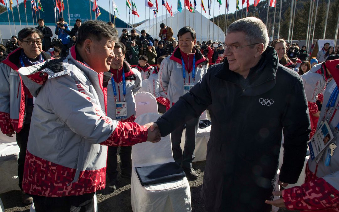 Is North Korea's Olympics participation an effort to muddy international waters?