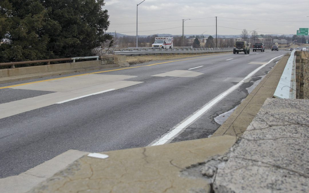 Frederick County remains below state, national averages for structurally deficient bridges