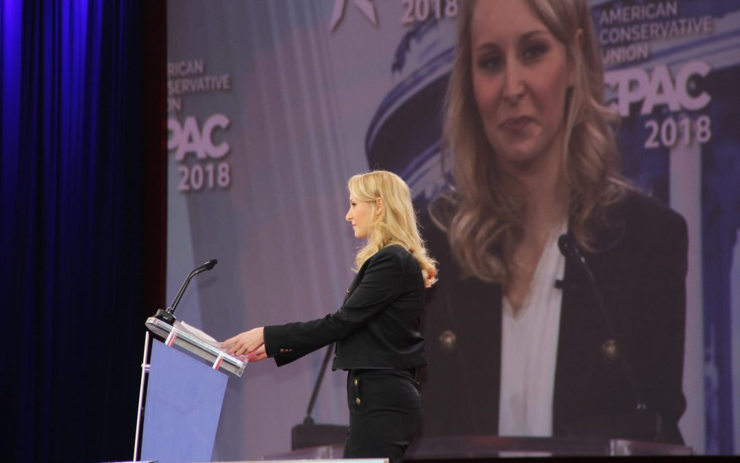 Niece of far-right French presidential candidate calls for conservative unity at CPAC