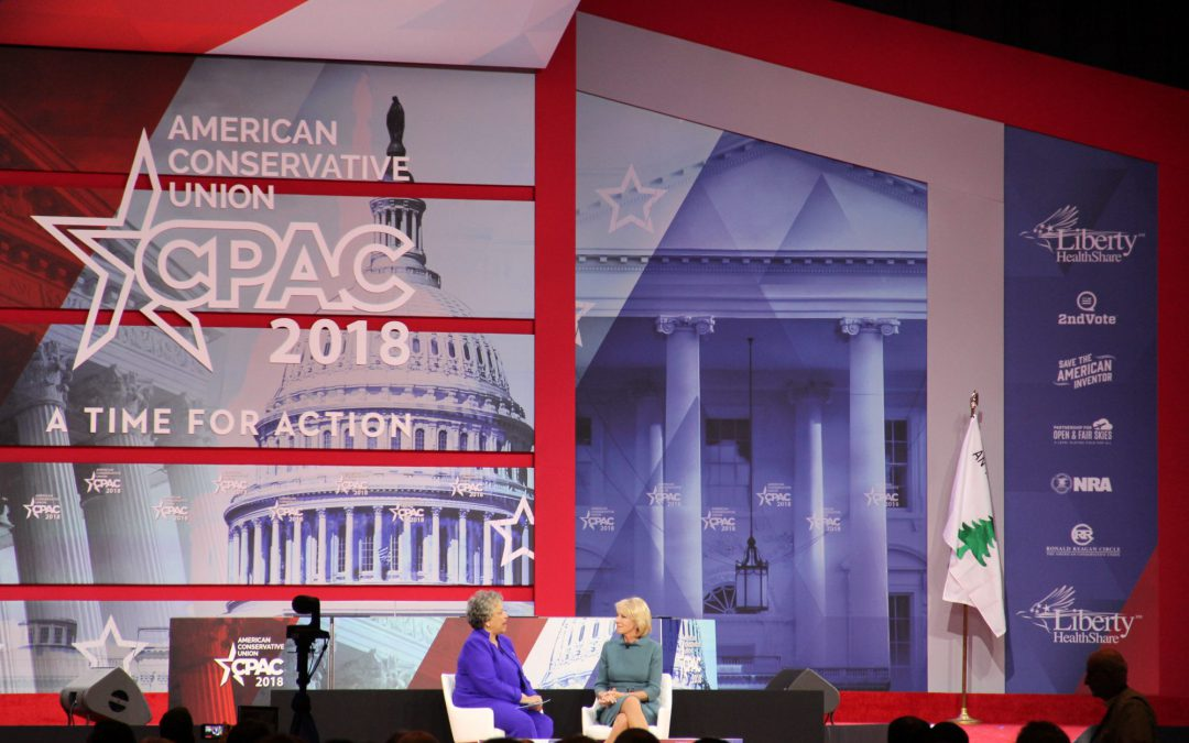 Freedom of speech issue energizes conservative conference