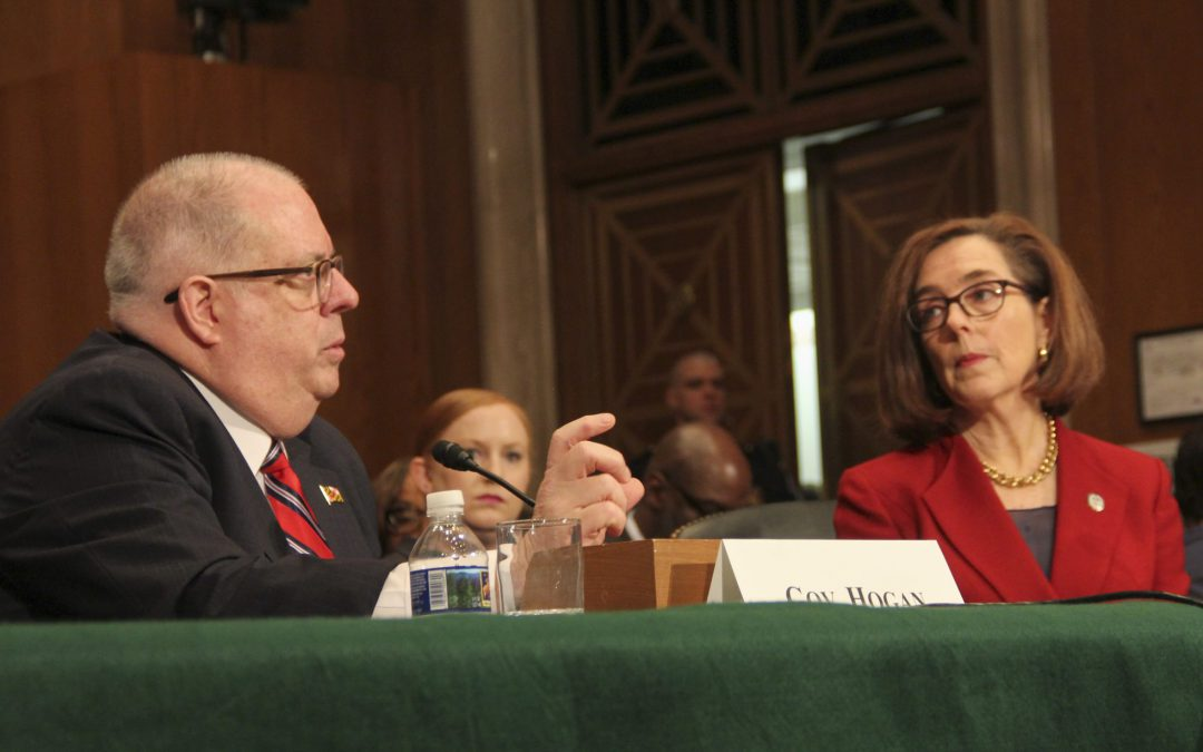 Gov. Brown testifies in Senate about opioid crisis