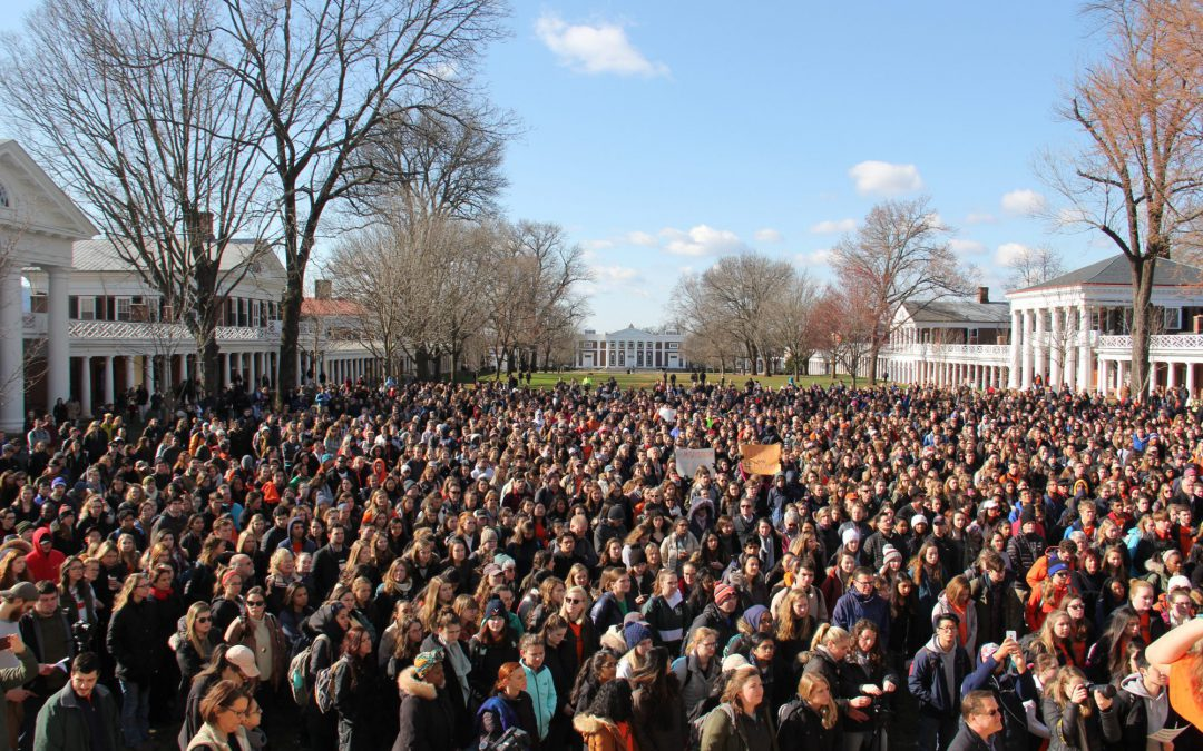 Students walked out of class nationwide. Here are some who stayed behind