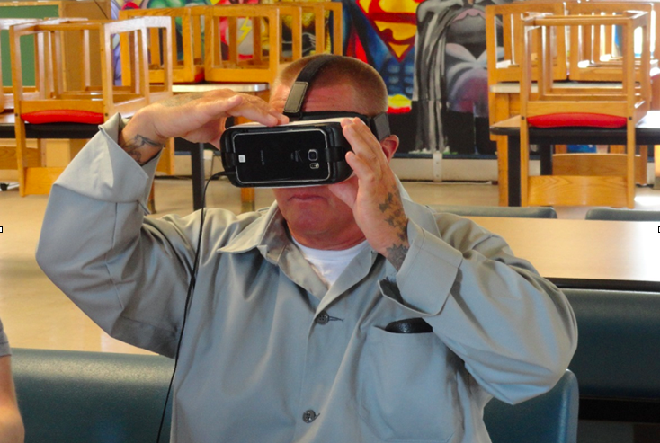 Introducing Inmates to Real Life via Virtual Reality