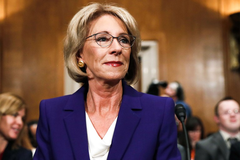 Betsy DeVos, for-profit colleges push for regulatory reset to undo Obama's education legacy
