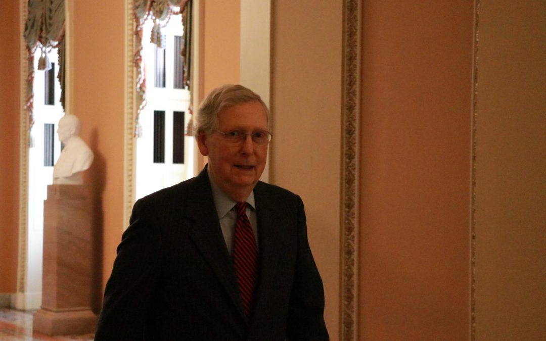 Senate Approves Consideration of McConnell amendment rebuking Trump foreign policy
