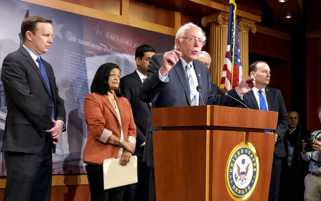 Bipartisan group introduces bill to end U.S. support for war in Yemen