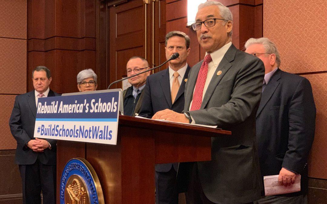 DEMOCRATS PROPOSE $100 BILLION TO STRENGTHEN SCHOOLS