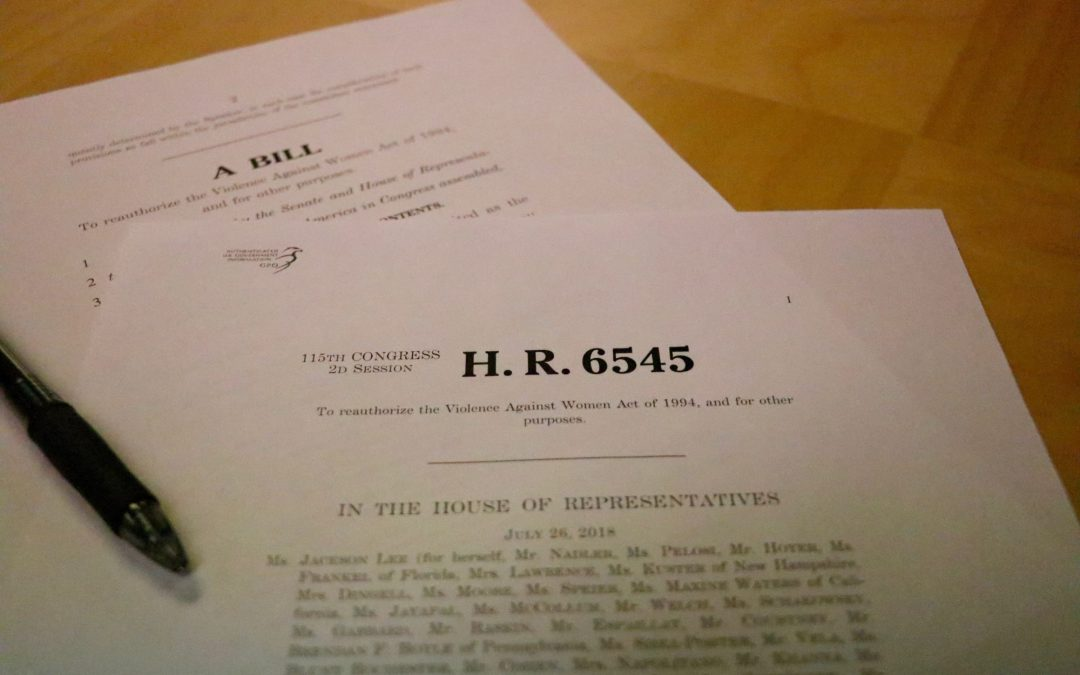 Not Included in Appropriations Bill, Law to Protect Women Expires