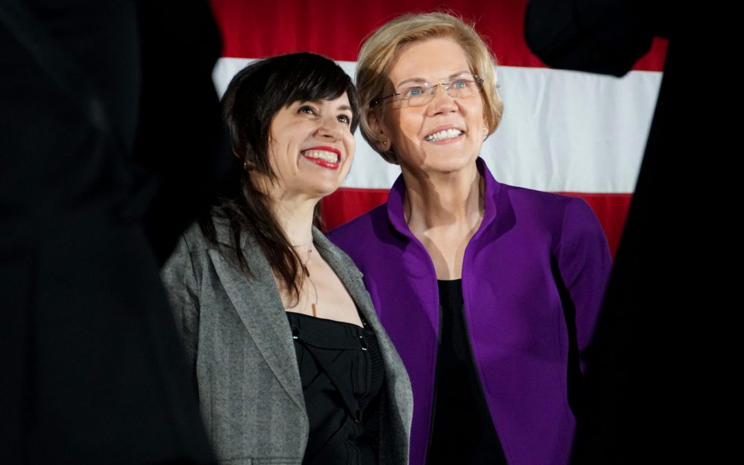 Why Her: Voters at Warren's NY Rally