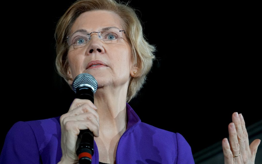 WARREN TAKES CAMPAIGN AGAINST SILICON VALLEY TO ANTI-TECH TERRITORY