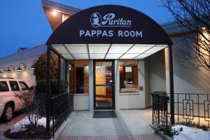 Events are often held in the restaurant's Pappas Room, named after the owner, Arthur Pappas. His son, Chris Pappas, was recently elected to the U.S. House of Representatives. (Charlotte Walsh/MNS)