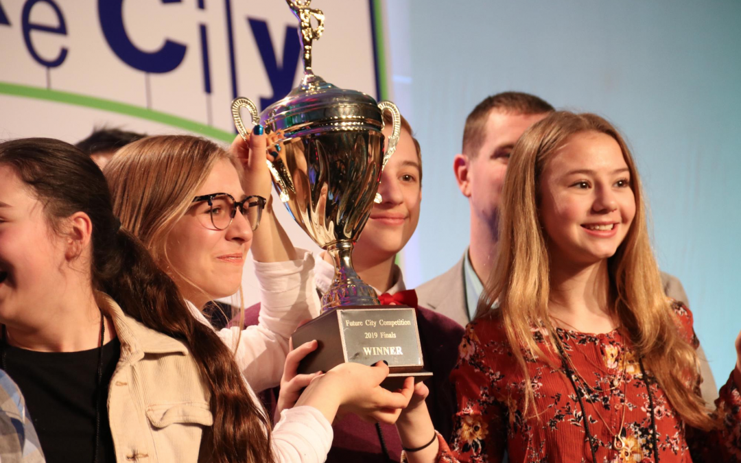 MIDDLE SCHOOLERS TAKE ON TOMORROW'S CHALLENGES WITH FUTURISTIC CITIES