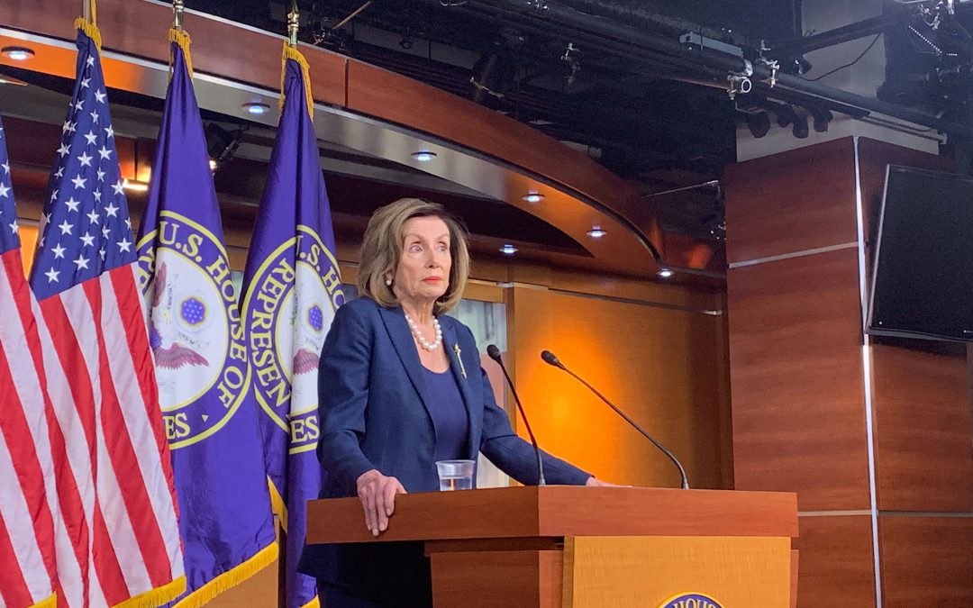 Pelosi says new GAO report, Parnas claims reaffirm impeachment charges