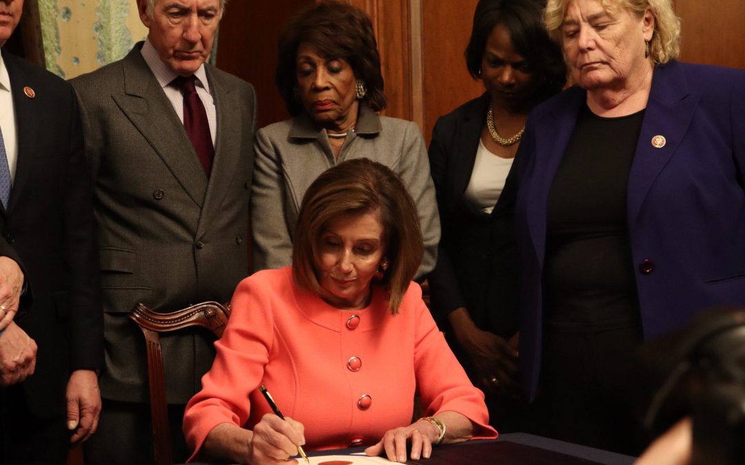 House approves impeachment managers: Pelosi to sign articles next