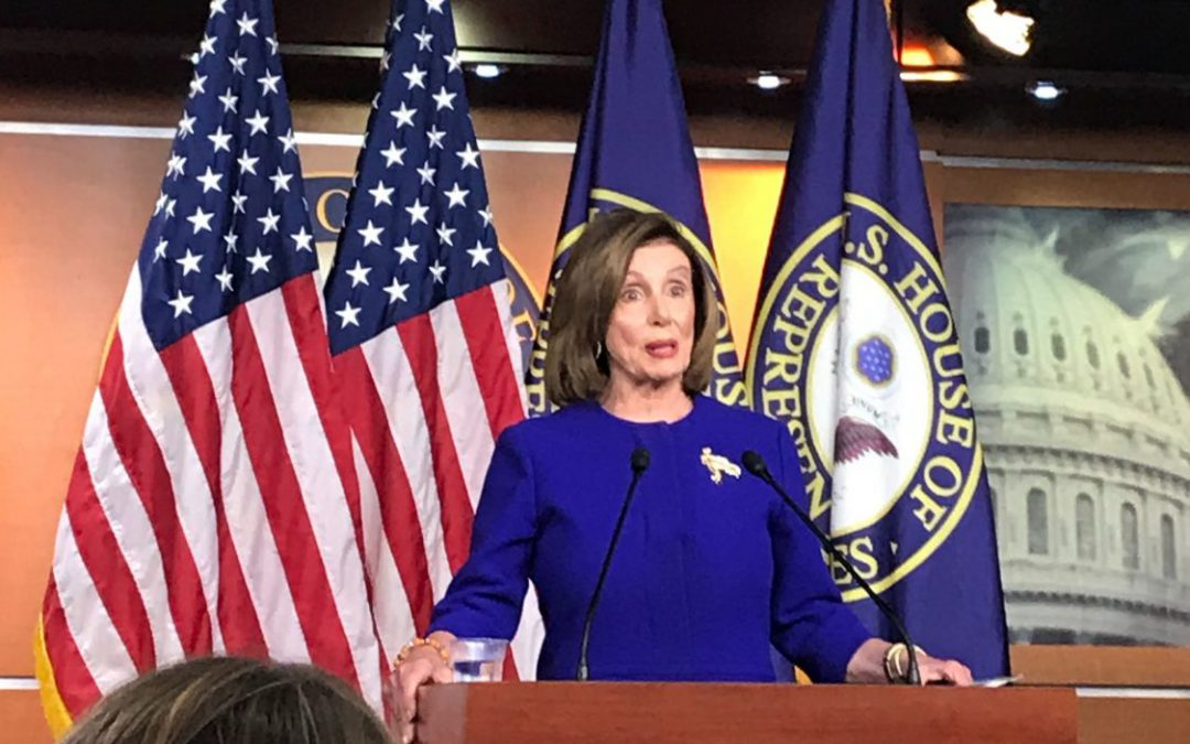 Pelosi aims to reign in Trump's war-making power while holding firm on articles of impeachment